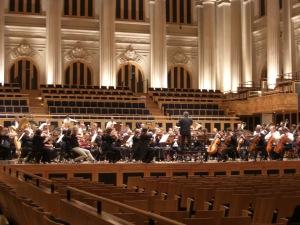 repetitie KCO in Sala Sao Paulo