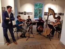 Kamermuziek Ensemble Nederland met Ab Nieuwdorp